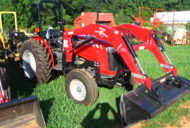 USED MASSEY FERGUSON 2605/WOODS LOADER