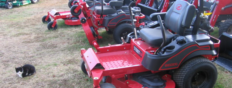 Full Line of BIG DOG Mowers, Commercial and Residential