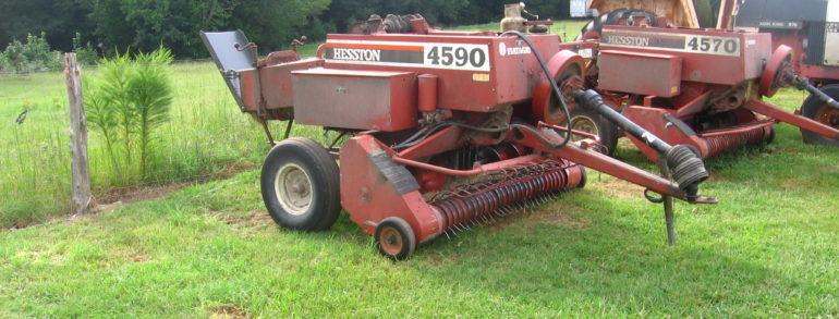 HESSTON 4590 Baler