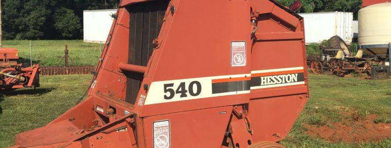 HESSTON 540 BALER